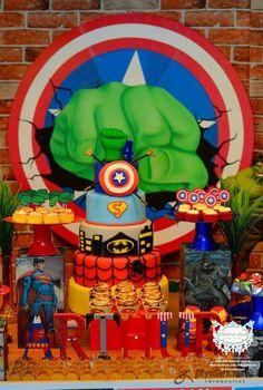 Festa Super Heróis!!