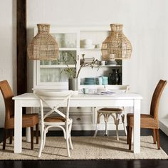 Freedom Furniture shows how mixing chairs can add character to a room
