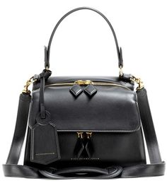 Victoria Beckham Mini Full Moon Leather Tote For Spring-Summer 2017