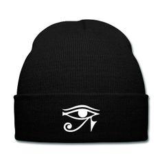 Eye of Horus Beanie - Available Here: http://sondersky.spreadshirt.com.au/eye-of-horus-A18447308