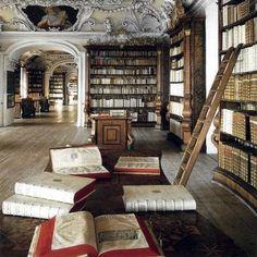 The Library of the Kremsmünster Abbey (Austria)