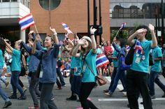 2012 World Choir Games: Celebration of Nations Parade: Thailand