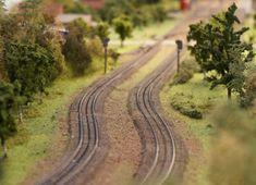 Modeltreinen rails