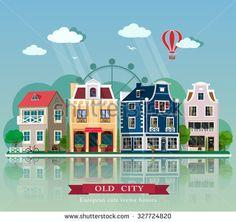 old city houses - Поиск в Google
