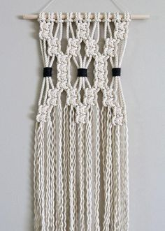 I'm so happy with this order that's going out to their new home Macrame Plant Hanger Patterns, Macrame Wall Hanging Patterns, Macrame Plant Hangers, Macrame Patterns, Etsy Macrame, Macrame Art, Macrame Projects, Macrame Knots, Art Macramé