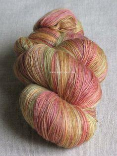 Adventitia handspun multicolor yarn 70% merino 30% tussah silk http://www.ravelry.com/people/Bottheka/handspun/adventitia