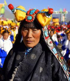 Tibetan | Photo taken at the Tibetan Horse Festival in Yu Shu | © Susan Hardman