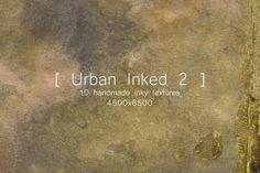Urban Inked Backgrounds 2 by TheUrbanLine on @creativemarket