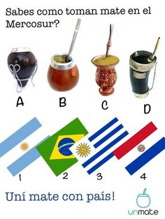 Which way do you enjoy your Yerba Maté? Rio Grande Do Sul, Stevia, Paraguay Food, Yerba Mate Tea, Different Types Of Tea, Chinese Greens, Fruit Tea, Coffee Roasting, Gourds