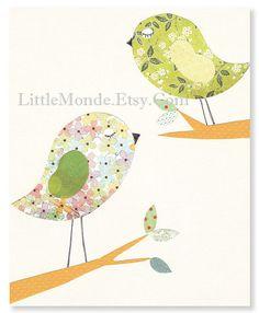 Nursery+Art+Prints+Elephant+Nursery+Art+Baby+Girl+by+LittleMonde,+$16.00