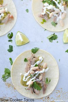 Slow Cooker Tacos - Perfect weeknight recipes for the working mom!