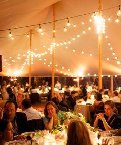 Bistro Lights | Sperry Tents Hamptons
