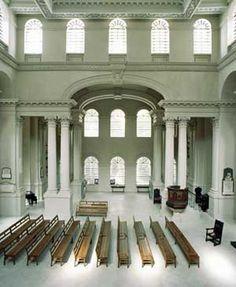 Christ Church Spitalfields interior (1714-29) by Nicholas Hawksmoor