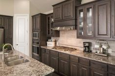 Find new homes in the Aledo TX area. Highland has new homes in the Morningstar & Walsh communities, just minutes away from Aledo Texas area hot spots Kitchen Cabinet Styles, Kitchen Redo, Kitchen Remodel, Kitchen Design, Kitchen Cabinets, Log Home Kitchens, Luxury Kitchens, Updated Kitchen, Kitchen Updates