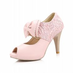 Charm Foot Sweet Bows Spring Summer Womens High Heel Peep Toe Ankle Boots * Learn more by visiting the image link.