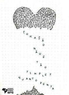 Poema Visual, Music Doodle, Music Memes, Lettering Tutorial, Vintage Sheets, Art Quotes, Lyrics, Doodles, Scrapbook