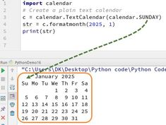 Calendar module in Python has the calendar class that allows the calculations based on date, month, and year. Learn how to print Text , HTML Calendar in python with examples. Teaching Technology, Medical Technology, Energy Technology, Teaching Science, Data Science, Technology Gadgets, Programming Tutorial, Python Programming, Computer Programming