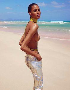 Carla Bruna Is Beach Goddess For Vogue Ukraine June 2016