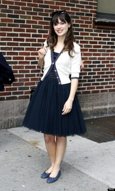 zooey deschanel, love her style.can we just say wow