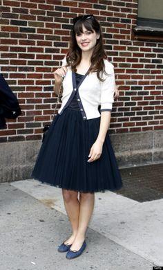 zooey deschanel, love her style.