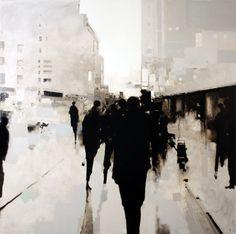 painting by artist Geoffrey Johnson Modern Art, Contemporary Art, Art Graphique, Beauty Art, Art Plastique, Painting Inspiration, Design Inspiration, Painting & Drawing, Art Photography