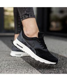 more photos 15751 8ec04 Buy Nike Air Max Thea Premium Black For Sale