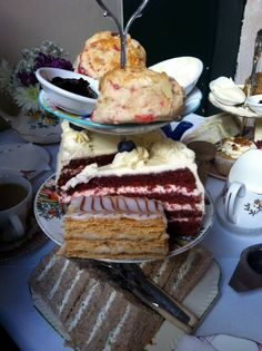 Afternoon Tea at Soho Secret Tea Room in London