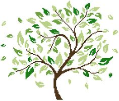 319 Best Tree Cs Images In 2019 Embroidery Patterns Cross Stitch
