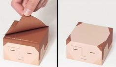 Balding Post-it Notes - cute gift for Father's Day. Dad would love me for this.
