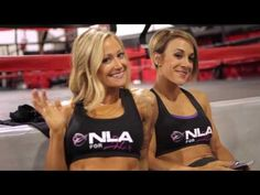 NLA For Her - Mr Olympia 2013 Fitness Behind The Scenes Photo Shoot