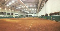 Dong Gu College Indoor Tennis courts, Ulsan.