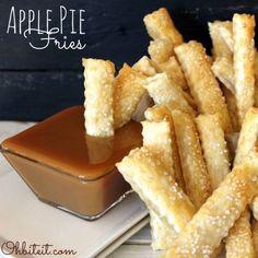 Apple Pie Fries