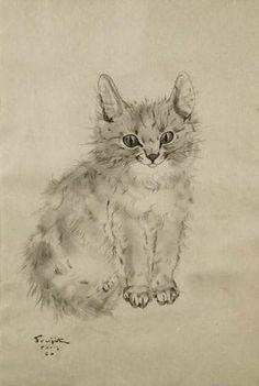 Seeking Beauty - Léonard Tsuguharu FOUJITA (1886-1968)