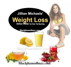 The Jillian Michaels' weight loss detox water is a natural diuretic drink made with distilled water, organic dandelion root tea, lemon juice and cranberry juice. It is a 7-day detox drink promoted by Jillian Michaels for quick weight, especially to get rid of belly fat. According to Jillian, you can lose a few pounds