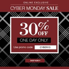 #Clarks on sale! Shop #CyberMonday | Today only