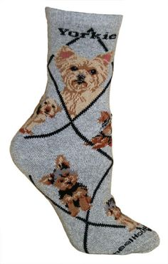 I have these Yorkie Socks