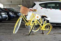 Egriders retro style bikes vintage bicycles fashion yellow family woman child #egriders #retro #style #bikes #vintage #bicycles #fashion #yellow #family #woman #children Vintage Bicycles, Retro Fashion, Baby Strollers, Yellow, Retro Style, Children, Woman, Baby Prams, Boys