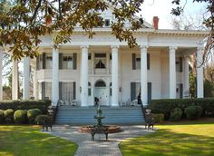 1902 Rosemary Inn For Sale In North Augusta South Carolina — Captivating Houses Southern Mansions, Southern Homes, Southern Living, Beautiful Homes, Beautiful Places, North Augusta, Greek Revival Home, Revival Architecture, Second Empire