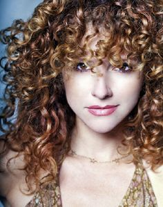 how to make my curly fringe dry naturally