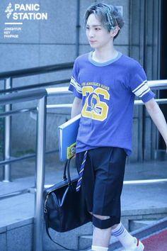 150522 По пути на Music Bank  #Shinee #Key #Taemin #Minho #Onew #Jonghyun #ODD