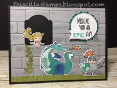 Stampin' Amigos: An Epic Day