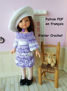 """/""""Miss in Bunches/"""" Crochet Pattern for Paola Reina Las Amigas"""