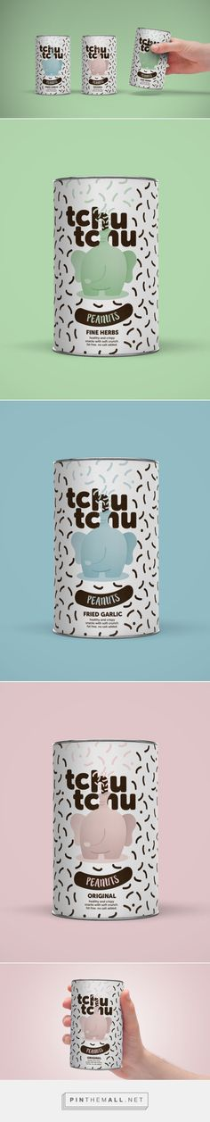 TchuTchu Peanuts (Concept) - Packaging of the World - Creative Package Design Gallery - http://www.packagingoftheworld.com/2016/11/tchutchu-peanuts-concept.html