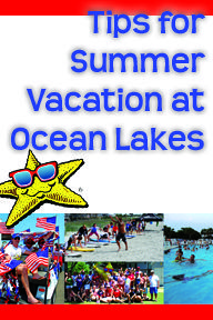 Just a short video to help better plan your Summer vacation here at Ocean Lakes Family Campground in Myrtle Beach, SC