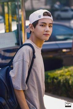 """""""Yeah well I'm done with you bossing me around so leave me alone!"""" Jungkook said finally gaining confidence towards Taehyung. """"You never learn do you jeon? V Taehyung, Kim Taehyung Funny, V Bts Cute, V Cute, Foto Bts, Hoseok, Fake Instagram, Bangtan V, V Bts Wallpaper"""
