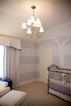 cool wall painting idea for the nursery