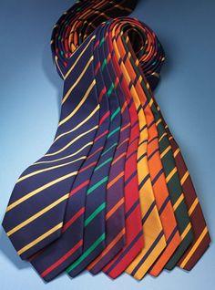 Mogador Silk Bar Stripe Ties