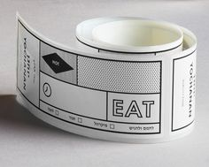 Yochanan Deli identity and box tape designed by Koniak.