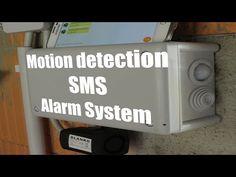 DIY Motion Detection SMS Alarm System