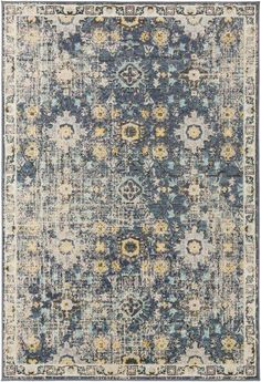 Product Image of Navy (CIT-2371) Vintage / Overdyed Area Rug Traditional Area Rugs, Traditional Design, Marine Blue, Small Rugs, Modern Prints, Home Decor Trends, Timeless Design, Aqua Blue, Colorful Rugs